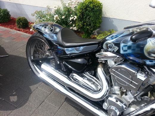harley davidson night rod hummer h2 custom bike selber. Black Bedroom Furniture Sets. Home Design Ideas
